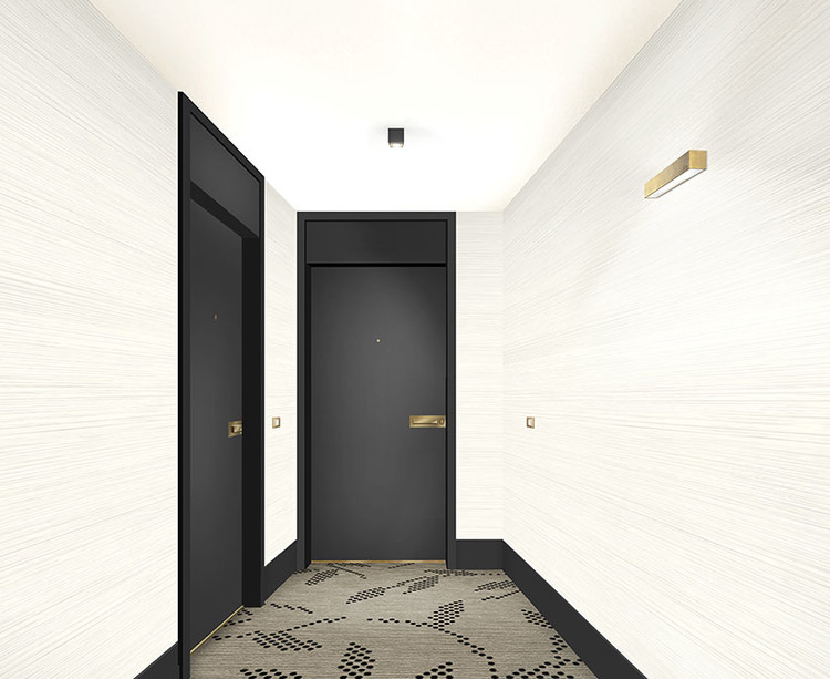 Palier d'étage du programme immobilier neuf 1 Rue Roussel à Saint-Maur-des-Fossés
