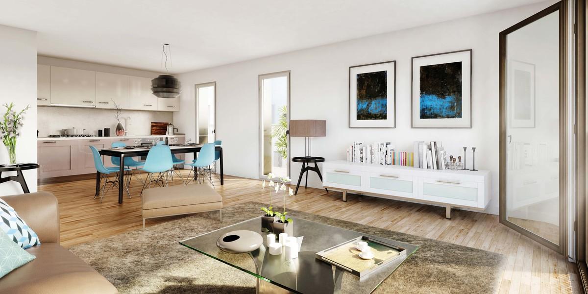 Appartement du programme immobilier neuf 5 Mail Cousteau à Massy
