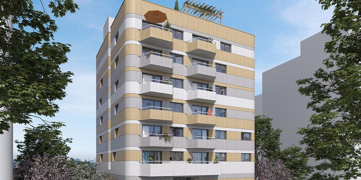 Immeuble Kopo du programme immobilier neuf Variations à Vitry-sur-Seine
