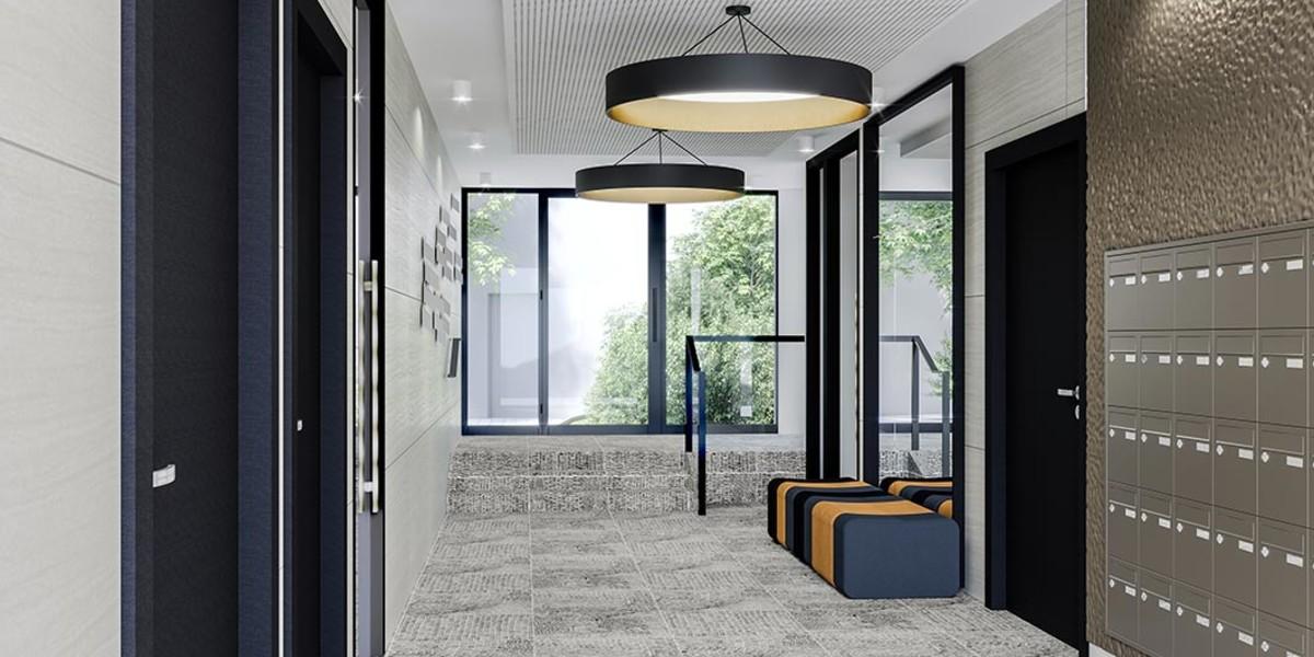 Hall d'entrée du programme immobilier neuf 21 Jean Jaurès à Gentilly